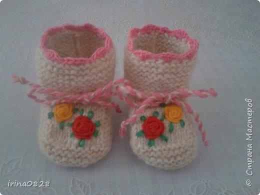 пинетки для деток)))))) фото 2