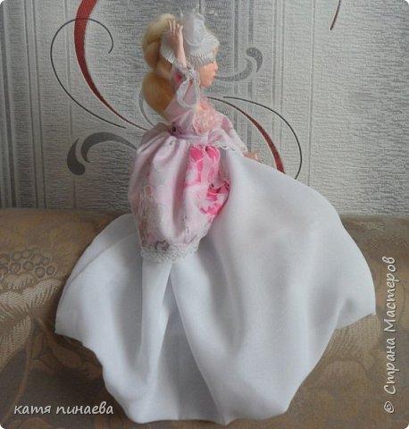 кукла в смешанной технике на проволочном карасе фото 1