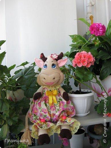 Телец в подарок для любимой доченьки! По МК Голеневой Анастасии. фото 2