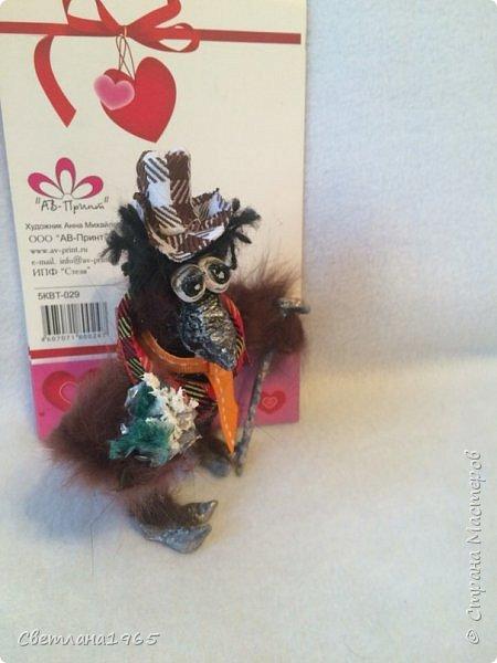 Приветствую !денди-птицын сделан на пробке из шипучих напитков! фото 3