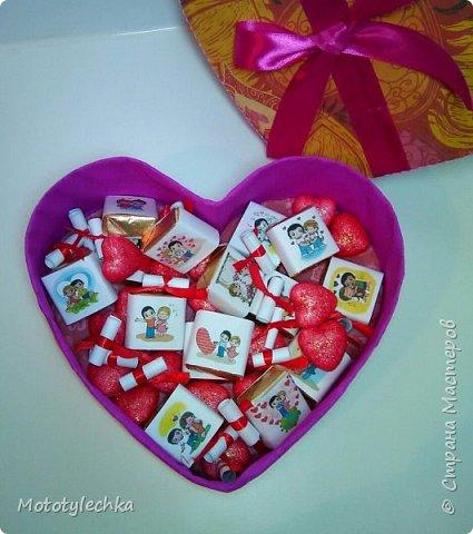 Вот такая коробочка для любимого человека получилась) фото 3