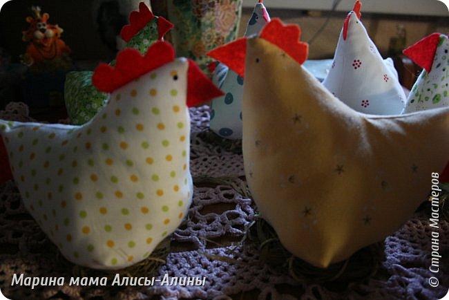 Нашила курочек на подарки. фото 4
