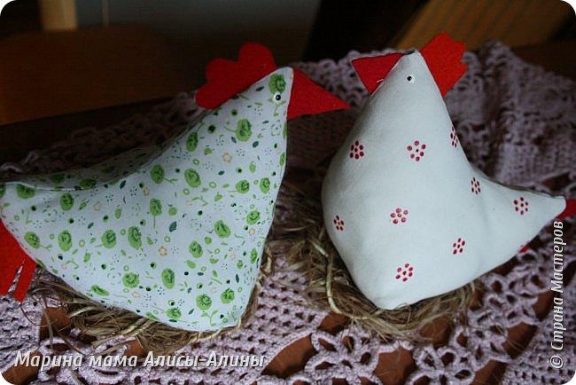 Нашила курочек на подарки. фото 7