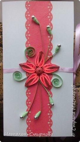 Здравствуйте! Сегодня у меня и открытки, и шоколадницы, и конверты. Основа этого конверта из самодельного картона. фото 3