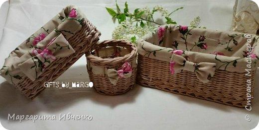 Набор корзинок с чехлами фото 6