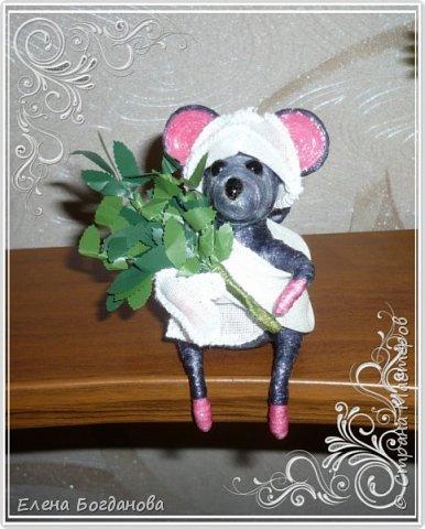 Мышка-норушка в баньке... фото 2