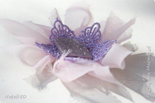 Доброго всем дня!! С Великим Днём Победы!!! Вчера сделала цветочки для моих куколок..Спасибо КсюИв  за МК - http://stranamasterov.ru/node/987708?c=favorite Теперь мои куклёхи будут нарядными с такими брошками - цветочками! фото 5