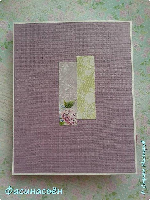 """Вот такая открытка сотворилась у меня.Лифтинг открытки самарской мастерицы Кристины Федотовой.В эту бумагу я просто влюбилась.Многие """"ругают"""" Арт Узор,а мне нравится)))  фото 10"""