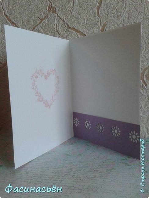 """Вот такая открытка сотворилась у меня.Лифтинг открытки самарской мастерицы Кристины Федотовой.В эту бумагу я просто влюбилась.Многие """"ругают"""" Арт Узор,а мне нравится)))  фото 11"""