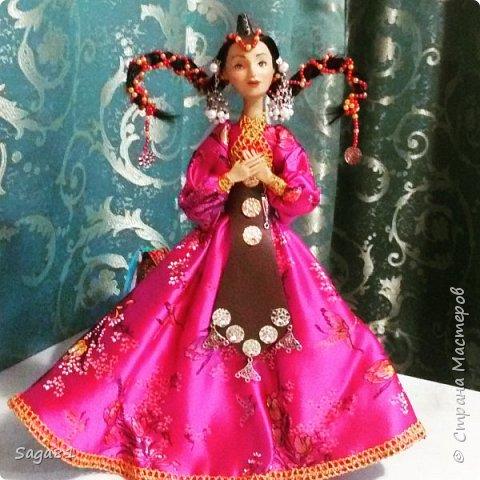 Здравствуйте, родилась очередная девочка, едет она в в подарок хорошенько человеку. Зовут ее Айюна-Улан . Нежная трогательная девушка, императорских кровей , мечтающих стать воином.  фото 2