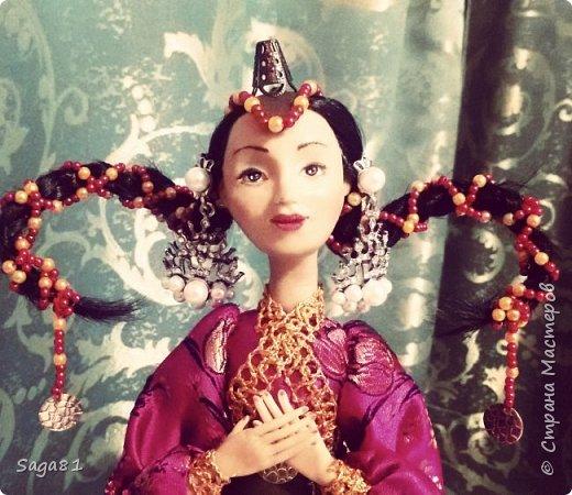 Здравствуйте, родилась очередная девочка, едет она в в подарок хорошенько человеку. Зовут ее Айюна-Улан . Нежная трогательная девушка, императорских кровей , мечтающих стать воином.  фото 1