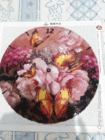 """Здравствуйте, Страна мастеров! У меня новое увлечение """"алмазная мозаика"""". Выкладываю картины из страз. Это моя первая картина. фото 5"""