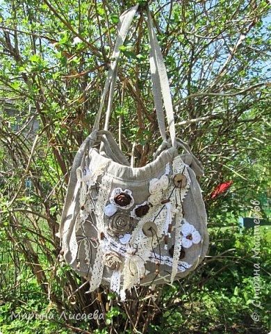Здравствуйте, мои дорогие жители Страны Мастеров! А покажу-ка я вам сегодня свою новую сумочку и прочие мелочи, сделанные мною по случаю. фото 1