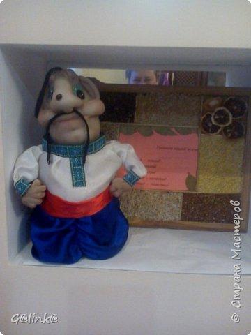 Минибар казак по МК Юлии Лазаревой. За казачком моё панно. фото 1