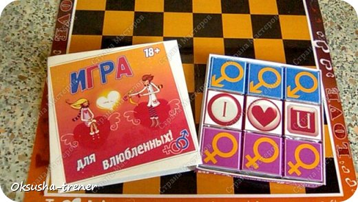Шоколадный набор-игра для влюбленных 18+ фото 11