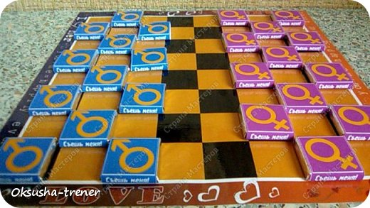 Шоколадный набор-игра для влюбленных 18+ фото 12