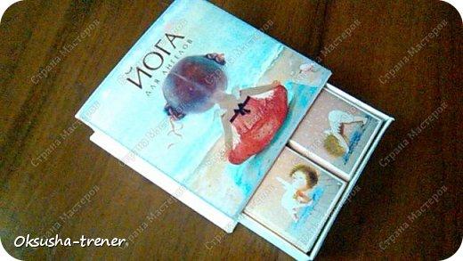"""Шоколадная коробочка """"Йога для ангелов""""))) фото 2"""