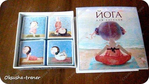 """Шоколадная коробочка """"Йога для ангелов""""))) фото 9"""