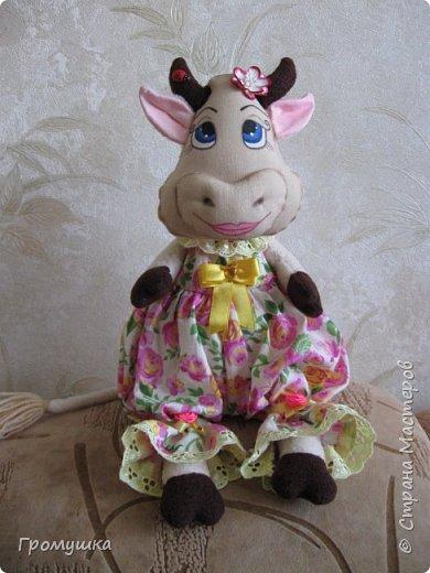 Телец в подарок для любимой доченьки! По МК Голеневой Анастасии. фото 3