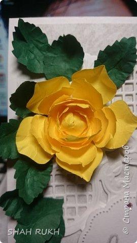 Всем привет! Вот решила сделать что-то из области ботаники... С жёлтым цветом работать доводилось редко.. вот и возможность. Надеюсь понравится... фото 3