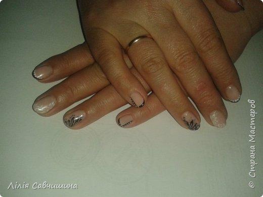 Мій перший досвід нарощування нігтів акрилом фото 15
