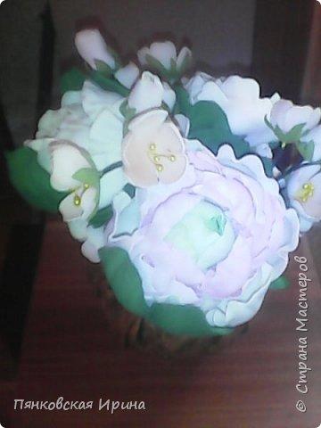 цветы для украшения из фоамирана фото 3