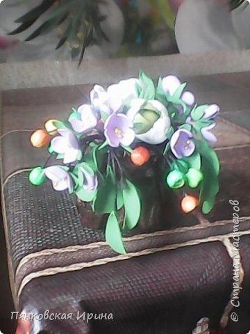 цветы для украшения из фоамирана фото 2
