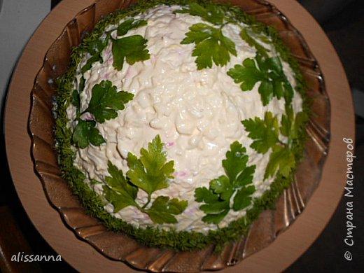 Доброе время суток....жители Страны....это моя импровизация...)))))))) салат понравился и я решила предложить его вам....)))))))))) угощайтесь... фото 1