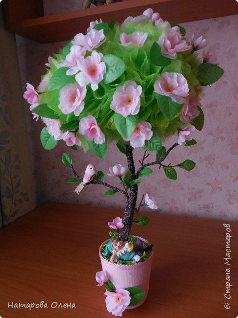 Здравствуйте, Мастера! Весна в самом разгаре! И я под ее влиянием, а также вдохновленная работой Татьяны Беликовой,создала топик под названием ЯБЛОНЕВЫЙ ЦВЕТ  фото 1