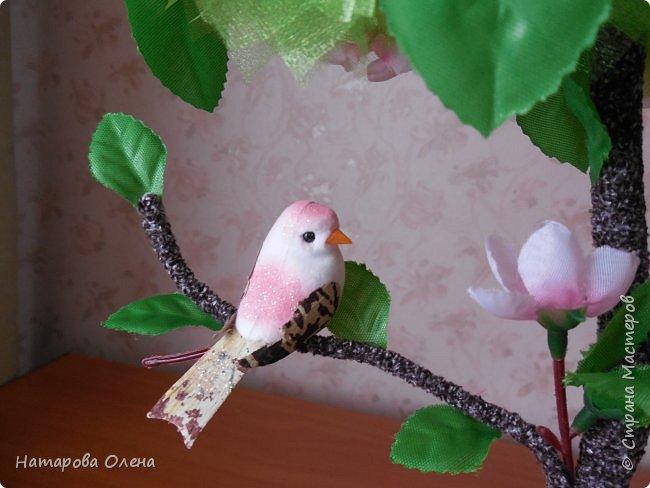 Здравствуйте, Мастера! Весна в самом разгаре! И я под ее влиянием, а также вдохновленная работой Татьяны Беликовой,создала топик под названием ЯБЛОНЕВЫЙ ЦВЕТ  фото 3