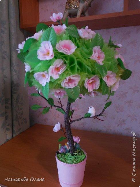 Здравствуйте, Мастера! Весна в самом разгаре! И я под ее влиянием, а также вдохновленная работой Татьяны Беликовой,создала топик под названием ЯБЛОНЕВЫЙ ЦВЕТ  фото 5
