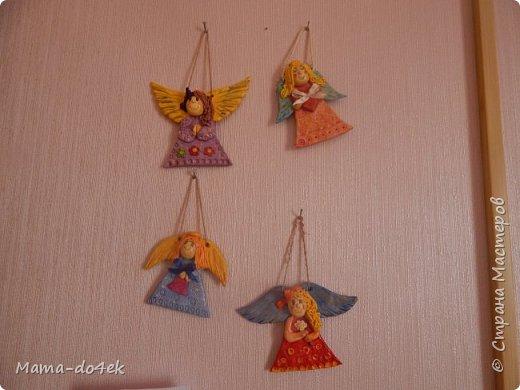 Ангелочки-обереги для детской. фото 1