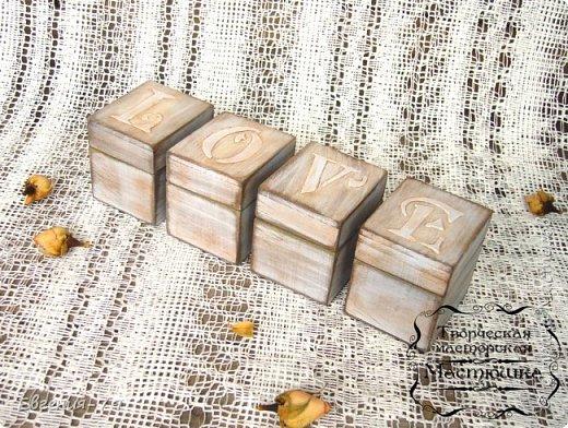 Шкатулочка-пенал сделана на заказ для фотографа, внутри 2 отделения для свадебных фотографий и для флешки фото 7