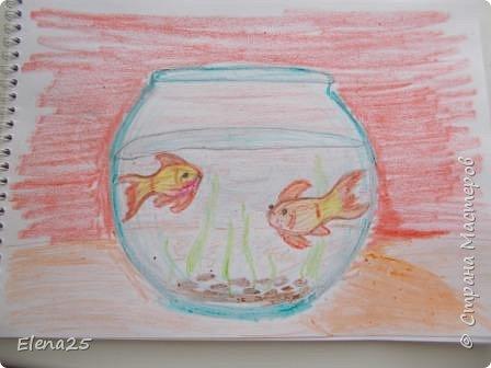 """""""Творческая мастерская"""" - Рисуем рыбок (работы детей) фото 1"""