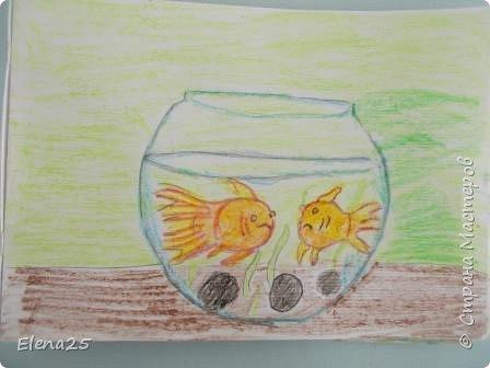 """""""Творческая мастерская"""" - Рисуем рыбок (работы детей) фото 4"""
