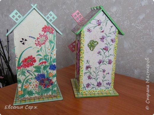 Всех приветствую на своей страничке! Еще два чайных домика появились в моём арсенале!Один -подарок на годовщину Свадьбы и другой для себя (Любимой)  фото 3