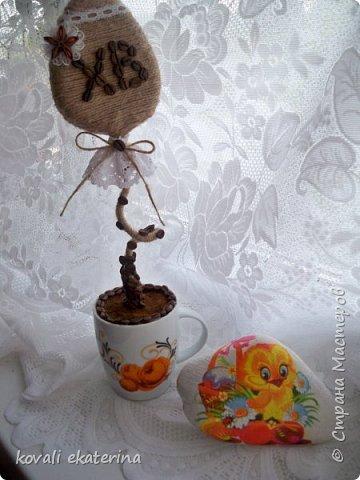 МОй обожаемый шпагат и кружева....любимый эко-стиль....такой вот подарочек для свекрови получился фото 3