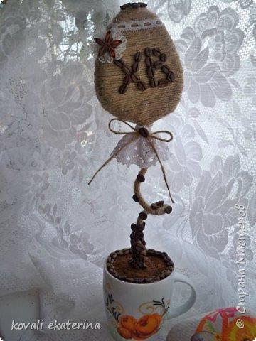 МОй обожаемый шпагат и кружева....любимый эко-стиль....такой вот подарочек для свекрови получился фото 1