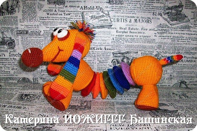 Радужная такса по МК Елены Беловой. фото 1