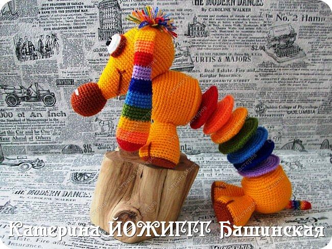 Радужная такса по МК Елены Беловой. фото 3