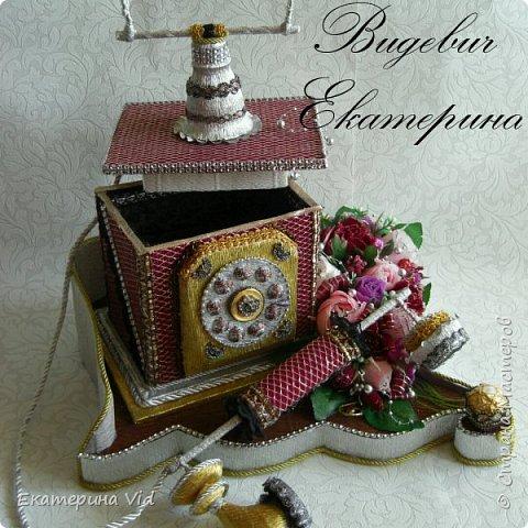 Всем привет!Мой подарочный ретро телефон для одной милой женщины :-)  фото 4