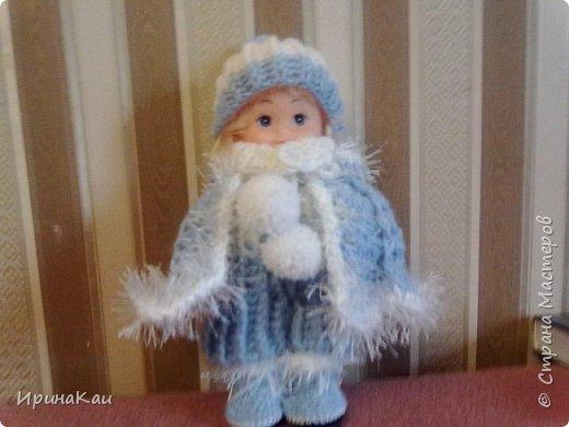 Маленькая хорошенькая куколка  Анни (12см ее высота) в подарок на день рождения моей маленькой хорошенькой внучке Анюточке. Шляпка, платье с корсажем - идем на бал фото 10