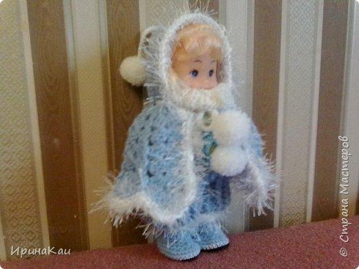 Маленькая хорошенькая куколка  Анни (12см ее высота) в подарок на день рождения моей маленькой хорошенькой внучке Анюточке. Шляпка, платье с корсажем - идем на бал фото 9