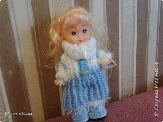 Маленькая хорошенькая куколка  Анни (12см ее высота) в подарок на день рождения моей маленькой хорошенькой внучке Анюточке. Шляпка, платье с корсажем - идем на бал фото 8