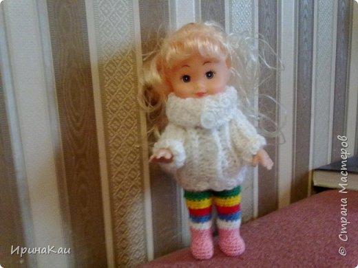 Маленькая хорошенькая куколка  Анни (12см ее высота) в подарок на день рождения моей маленькой хорошенькой внучке Анюточке. Шляпка, платье с корсажем - идем на бал фото 7