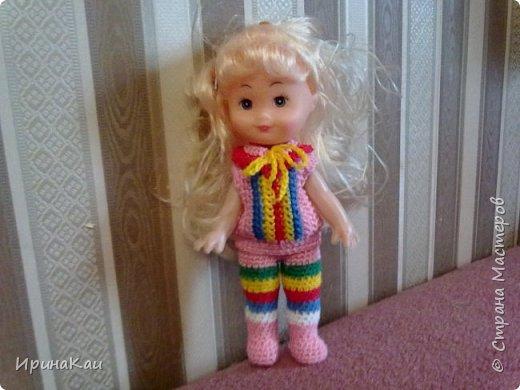 Маленькая хорошенькая куколка  Анни (12см ее высота) в подарок на день рождения моей маленькой хорошенькой внучке Анюточке. Шляпка, платье с корсажем - идем на бал фото 6