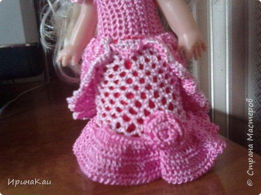 Маленькая хорошенькая куколка  Анни (12см ее высота) в подарок на день рождения моей маленькой хорошенькой внучке Анюточке. Шляпка, платье с корсажем - идем на бал фото 3