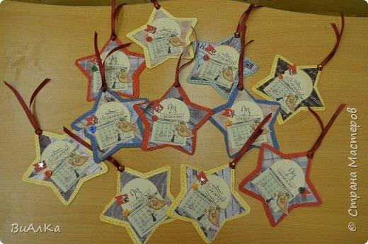 Вот такие открытки для наших мальчишек к 23 февраля у нас получились!) фото 7