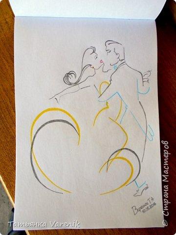 Одним росчерком карандаша...палитра чувств,эмоций и настроений...❤  Идеи зарисовок не мои.Срисовывала иллюстрации  разных талантливых илюстраторов=) фото 6