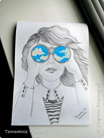 Одним росчерком карандаша...палитра чувств,эмоций и настроений...❤  Идеи зарисовок не мои.Срисовывала иллюстрации  разных талантливых илюстраторов=) фото 18
